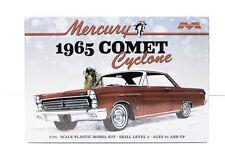 Moebius 1210 1965 Mercury Comet Cyclone New Model Car Plastic Kit 1/25