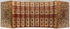 1908 Works of OLIVER GOLDSMITH Turks Head Ed. #593/1000 Stikeman Bindings FINE