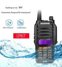 BaoFeng UV-9R IP67 Waterproof 8W Walkie Talkie VHF/UHF Ham Two-Way PMR446 Radios