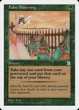 MTG X1: False Mourning, Portal Three Kingdoms, U, MP - FREE US SHIPPING!