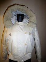 Original Timberland Daunen Jacke Gr. 40 wollweiß mit Riesen Kapuze - Luxus Pur