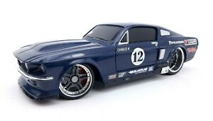 MAISTO RC Radio Control 1967 Ford Mustang GT 1:24 Blue Racing UNTESTED