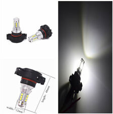 2pcs H16 Car Xenon White 6500K LED 16smd FDRL Daytime Running Fog Light Bulbs