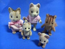 SYLVANIAN FAMILIES ASSORTED FAMILY FIGURES VARIOUS - DOG CAT MOUSE SQUIRREL