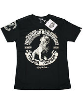 Yakuza Premium T-Shirt YPS-2509 Neighborhood Kingz Kampfhund Schwarz  5066