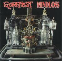 GOREFEST - MINDLOSS (1991) Dutch Death Metal CD Jewel Case+FREE GIFT