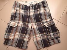 "Mens Size 12 ""Abercrombie"" Tartan Shorts - Great Condition - Bargain Price!"