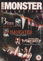 13 Hrs / Cry Lupo / Maneater DVD Nuovo DVD (HFR0259)