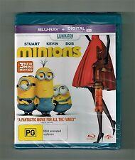 Minions - Blu-ray Brand New & Sealed