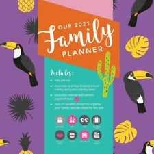 Our Family Planner 2021 Square Wall Calendar