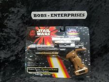 Star Wars Episode 1 Naboo Pistol With Water Blasting Action From Hasbro, b-16