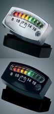 Yamaha V-Max 1200 Universal LED Battery Level Gauge - Black