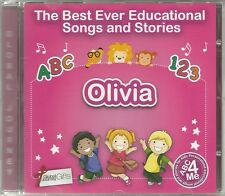 THE BEST EVER EDUCATIONAL SONGS & STORIES PERSONALISED CD - OLIVIA - ABC 4 ME
