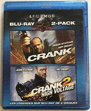 Crank / Crank 2 High Voltage (Bluray, 2010) Canadian