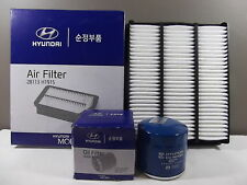 GENUINE HYUNDAI TERRACAN SUV HP 3.5L PETROL FILTER PACK (OIL FILTER+AIR FILTER)