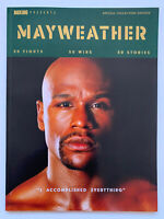 **FLOYD MONEY MAYWEATHER SPECIAL COLLECTORS ISSUE UK BOXING NEWS MAGAZINE 2021**