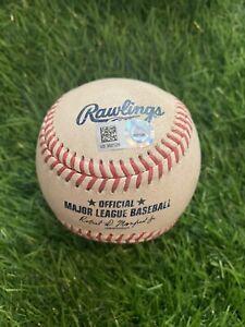 Fernando Tatis Jr. San Diego Padres Game Used Baseball Single 2021 MLB Auth