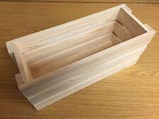 Pine apple crate storage display box DD331 34x13x15