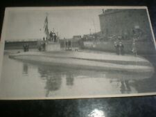 More details for old postcard captured german uc5 submarine mine layer c1910s
