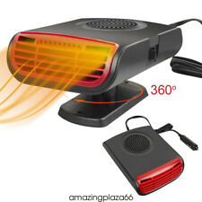 12V 150W Electric Car Heater Heating&Cooling Air Purify Electric Fan Demister Us