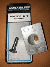 Gearcase Anode Kit Mercury 8HP 9.9HP 10HP 15HP Outboard Gearbox 42121Q02