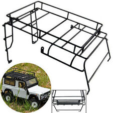 Metal Luggage Roof Rack w/ Light Stand for 1:10 RC4WD D90 Wrangler RC Crawler