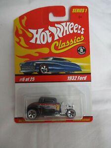 Hot Wheels Classics Series 1 1932 Ford Dark Violet Variation Mint In Card