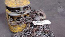 Budgit 12 Ton Chain Hoist Model Unknown Lot 4