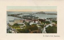AK, grafica, canale isola Guernsey-St. Peter's Port, 1941; 5026-70