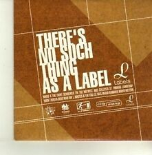 (DE120) There's No Such Thing As A Label, 13 tracks - 2002 DJ CD
