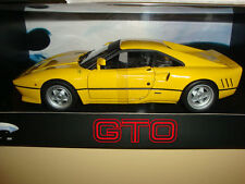 1985 FERRARI 288 GTO YELLOW BY HOT WHEELS ELITE 1:18 BRAND NEW IN SEALED BOX
