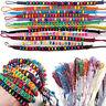 Wholesale Lot 12Pcs Multicolor Beads Braid Handmade Fashion Friendship Bracelets
