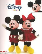 Disney mickey minnie characters dolls to crochet - pattern booklet RARE
