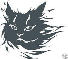 10 cm Aufkleber Autoaufkleber Katze Tribal Tattoo Folie Folienaufkleber
