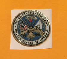 UNITED STATES ARMY FULL COLOR 2 INCH EPOXY DOME CAR DECAL STICKER EMBLEM