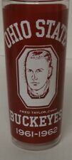 Ohio State Buckeyes Basketball Fred Taylor 1961-1962 Glass Havicek, Lucas Knight