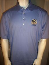 Polo Ralph Lauren Xl Blue Cotton Pga Issued 2016 Seniors Kitchen Aid Golf Shirt
