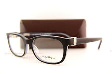 Brand New SALVATORE FERRAGAMO  Eyeglass Frames SF 2604 013 Black/Grey SZ 53