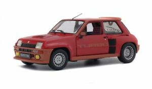 SOLIDO 1801302 RENAULT 5 TURBO diecast model road car red body 1981 1:18th scale