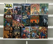 Justice League Graphic Novels  Dc 15 Lot Comic Book Comics Set Run Collection