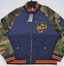 Polo Ralph Lauren Double Knit Jacket Camo Letterman Tiger Mens M Medium NWT $298