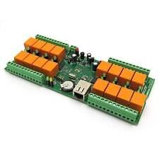 Denkovi LAN IP 16 Rele Controller Internet Ethernet - smartDEN 12V
