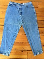 LA Blues Classic Medium Wash Straight Leg Womens Jeans 20 petite plus