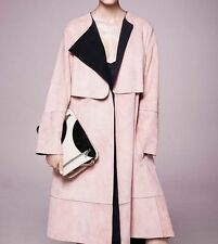 SPORTMAX By MAX MARA cappotto pelle  / coat  leather   New!  44 IT