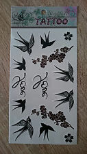 17x10cm-Sheet-High-Quality-Fake-Tattoo-Love-Birds-Waterproof-Party-Temporary
