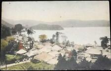 OLD JAPANESE POSTCARD OF VIEW OF OLD HAKONE? - C1920 JAPAN