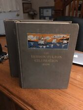 Vintage The Hudson Fulton Celebration 1909, V 1-2, Harvey Ferris, J.B. Lyon 1910