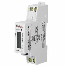 Digital 1-phase Electricity Meter Watts-Hour Meter LEM-02