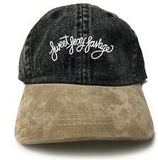 Sweet Sexy Savage Custom Unstructured Dad Hat-Black Denim w/ Suede Bill