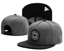 NEW Fashion Men's bboy Hip Hop adjustable Baseball Snapback Street Hat Black cap